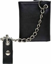 Levi's Men's Rfid Blocking Credit Card ID Chain Trifold Wallet image 5