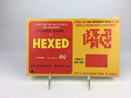 Vintage 1972 It's HEXED Puzzle Game! Kohner No. 115 COMPLETE  - $14.80