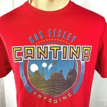 Star Wars Mos Eisley Cantina Tatooine L T-Shirt Large Mens Retro Travel ... - £13.37 GBP