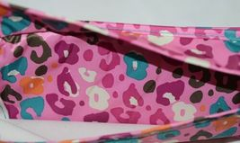 Room It Up Brand TCAE6221 Pink and Turquoise Leopard Print Flat Iron Case image 3