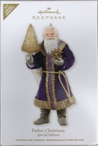 2012 Hallmark Ornament Father Christmas Special Edition Purple Robe - New - $26.95
