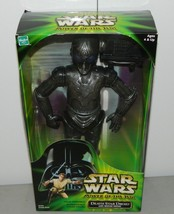 Star Wars Power Of The Jedi Death Star Droid with Mouse Droid Figure New... - $35.63