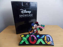 2014 Disney Britto Mickey and Minnie Mouse XOXO Plaque  - $55.00