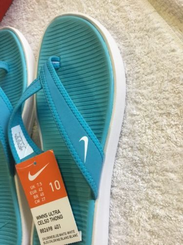 new product a3e66 f336a Nike Women's Ultra Celso Thong Sandals 882698-401 SIZE 10 NWB