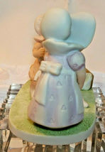 "HOME INTERIOR HOMCO PORCELAIN FIGURINE ""BE HAPPY!"" PETER 5:5 1994 image 6"
