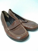 Coach Loafers Brown Lorna Sz 8B Made In Italy - $19.31