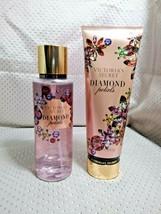 Victoria's Secret Diamond Petals Fragrance Lotion 8 Fl.Oz. & Body Mist 8... - $23.99