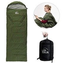 UPSKR Sleeping Bag Lightweight & Waterproof for Adults & Kids Cold Weath... - £24.18 GBP