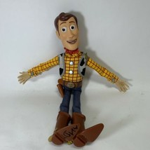 Toy Story Sheriff Woody Doll, Disney Pixar, Pull String 16 in. Works No Hat - $19.99