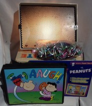 Original Vintage 1973 LITE BRITE Pegs unused peanuts pics Hasbro Light B... - $37.40