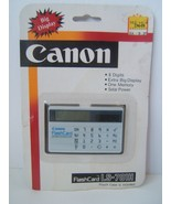 Canon Flash Card LS-701H New Old Stock Sealed Vintage Solar Calculator - $30.74