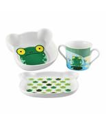Sambonet Kinder Feeding children set Froggy multicolour large - $32.21