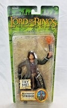The Lord Of The Rings Weather Top Strider Action Figure Fellow Ship Of The Ring - $25.00