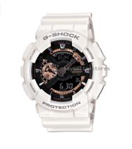Brand New Casio G-Shock GA110RG-7A White Black with Rose Gold Men Watch - $100.33