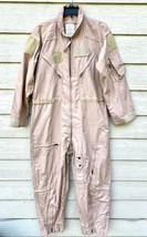 New Genuine Us Air Force Tan Nomex Fire Resistant Flight Suit CWU-27/P - 44S. - $123.75