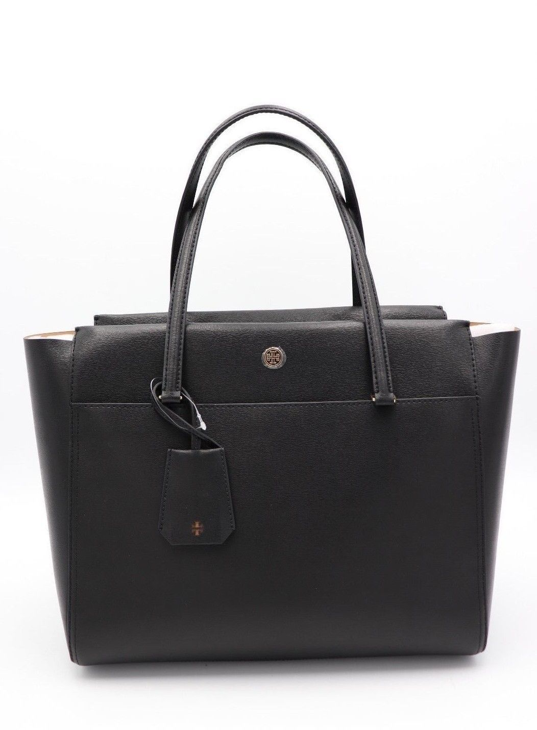 589c61a494bd New Tory Burch Parker Black Leather Tote and 50 similar items. 57