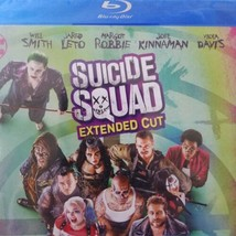 Suicide Squad Blu-ray Extended Cut DVD Disc Set NO DIGITAL COPY Leto Robbie - $12.95