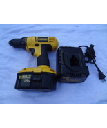 DEWALT  18 VOLT CORDLESS SET  DRILL  BATTERY and CHARGER DW 9116  DW9099... - $64.99