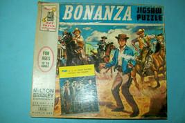 "1964 Bonanza Jigsaw Puzzle with Original 12"" X 14"" Mini Poster   Free Shipping - $73.50"