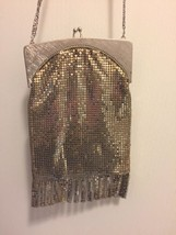 vintage whiting and davis Silver Mesh Purse - $46.45