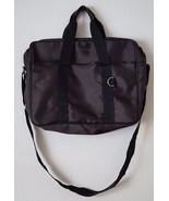 Calvin Klein Briefcase Laptop Shoulder Messenger Bag Adjustable Strap Cr... - $34.64