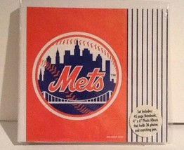 "New NY Mets Notebook + Photo Album Set 2005 - 45 Pages / 4"" x 6"" Photo A... - $21.76"