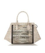 New Brahmin Women Arden Embossed Leather Satchel Handbags Variety Colors - $384.99