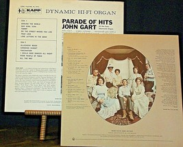 Parade of Hits John Gart and The Best of The Statler Brothers AA20-RC2125 Vintag image 2
