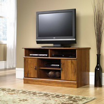 TV Stand Entertainment Center Media Console Storage Cabinet Wood Flat Sc... - $104.31