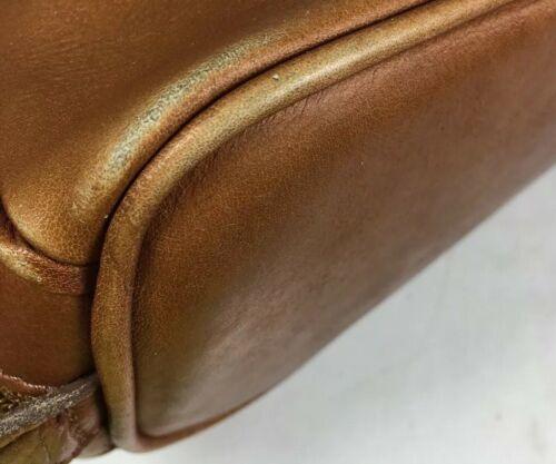 American Angel Brown Leather Multi Pocket Shoulder Bag – Distressed image 8