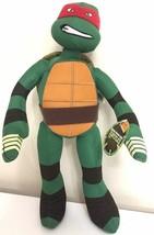 New Xlarge 17'' Ninja Turtles TMNT Plush Toy Raphael. Red Stuffed Licensed NWT.  - $17.63