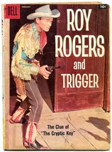 Roy Rogers and Trigger #122 1958- Dell Western- Alex Toth FAIR - $18.62