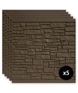 SimTek Composite Fence Panels 6 ft. x 6 ft. UV Protected Polyethylene Da... - $902.12