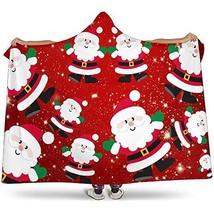 Christmas Blanket, Santa Blanket, Holiday Blanket, Christmas Throw, Chri... - $64.99