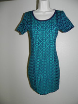 Romeo & Juliet Couture Dress Medium Womens  Blue Night Peacock NWT - $20.55