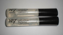 Boots No7 Lash & Brow Perfector Clear Conditioning Makeup Gel 7ml/.23oz ... - $22.40