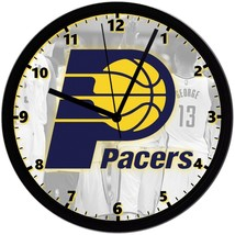 """Indiana Pacers LOGO Homemade 8"""" NBA Wall Clock w/ Battery Included - $23.97"""