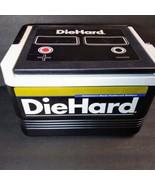 Vintage IGLOO DIEHARD Car Battery Ice Chest 6 Pack Cooler Lunch Box Die ... - $28.71