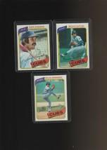 1980 Topps Cubs Lot of 3 Cards Hernandez Sutter Kingman - $2.44