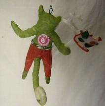 Vintage Inspired Spun Cotton Christmas Ornament Cat Boy! No.117 image 2