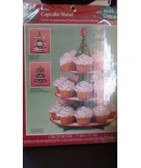 Wilton 3-Tier holiday Cupcake Stand NEW Treat Stand, Holds 24 cupcakes New - $8.59