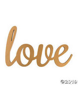 Gold Calligraphy Love Sign - $21.74