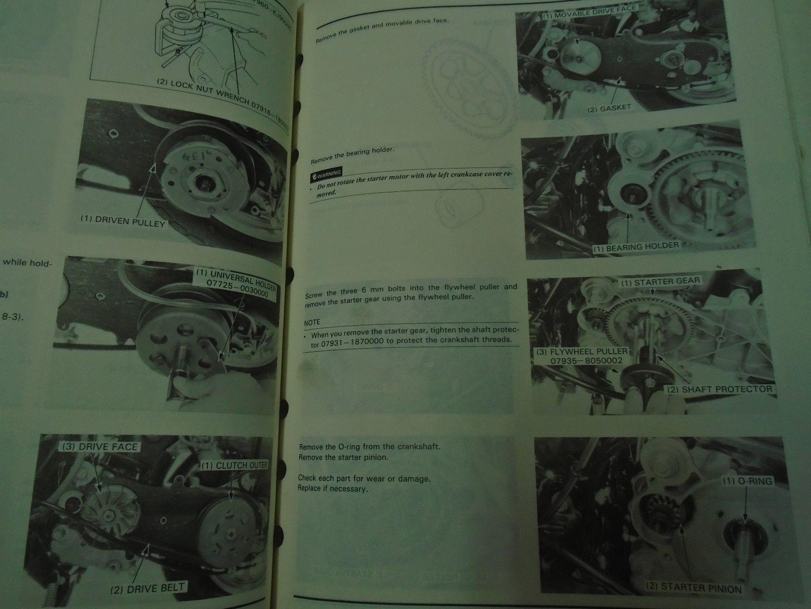 ... 1985 Honda CH80 Elite 80 Service Repair Shop Manual FACTORY OEM BOOK  Used ** ...