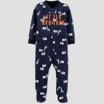 Just One You by Carter's Baby Boys' Little Bro Microfleece Sleep 'N Play... - $6.99