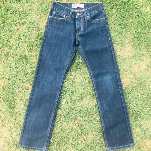 "Primary image for Levi's 511 Slim Fit Boys Jeans Size 26"" X 26"" (12) Dark Blue Washed"