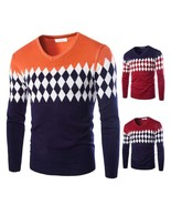 High Quality Thick Warm Cashmere Winter Sweater Men O Neck Slim Fit Mens... - $20.54+