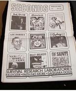 seconds Bad Brains Ozzy Lee Dorsey Motorhead Hank Williams Saints - $15.99