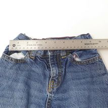 Oshkosh B'gosh Youth Boys Adjustable Waist Loose Fit Straight Leg Jeans Sz 6 image 7