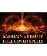 SAMHAIN HALLOWEEN FULL COVEN HAUNTED 27X  BEAUTY WORKS MAGICK JEWELRY CA... - $50.00