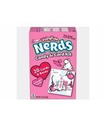 NERDS Valentine Candy & Card Kit 20 Cards & Boxes Free Shipping Great For Class - $14.99